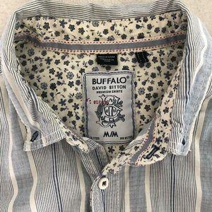 Buffalo David Bitton Stripe & Floral Shepley